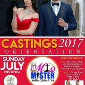 CASTINGS 2017 Miss & Mister Belleza Latina USA