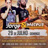 Jorge & Mateus Tour  USA 2018
